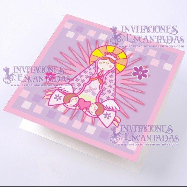 Invitación Bautizo BabySimple 05 InvBauSim05