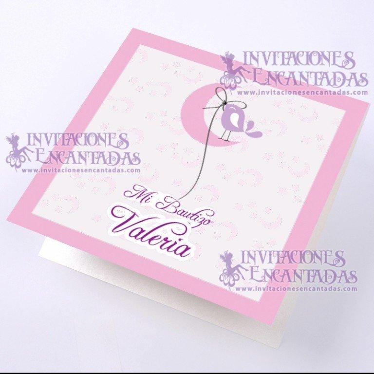 Invitación Bautizo BabySimple 03 InvBauSim03