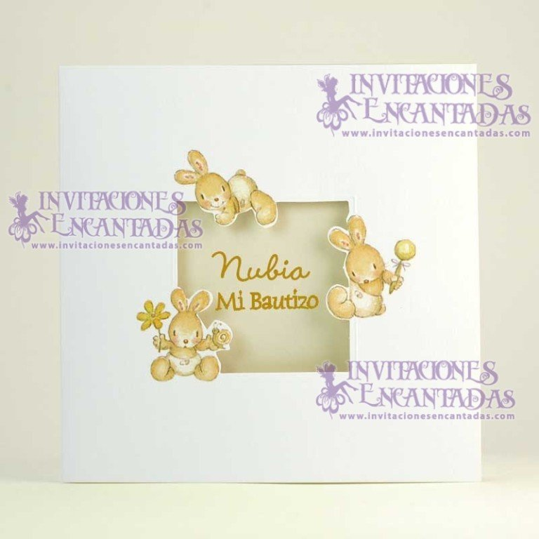 Invitación Bautizo Creative 06 InvBauCrea06