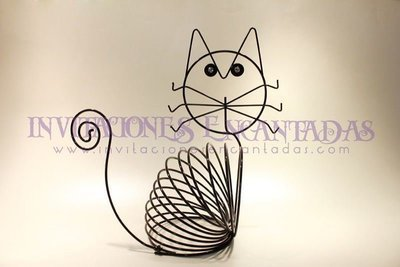 Joyero Gato Wire Anillado