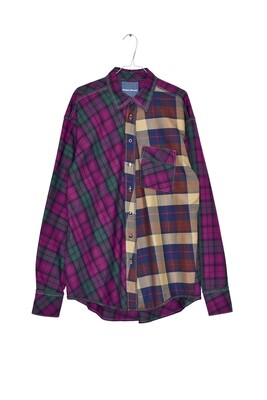 Shirt Oversized Tartan