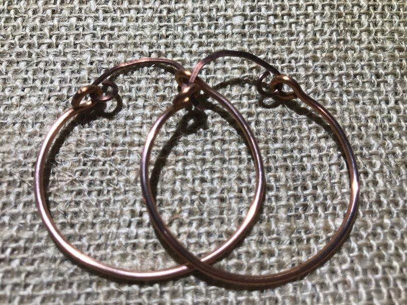 Large Hoop Earrings LgCoHoop001