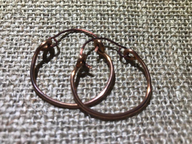 Small Hoop Earrings sCoHoop001