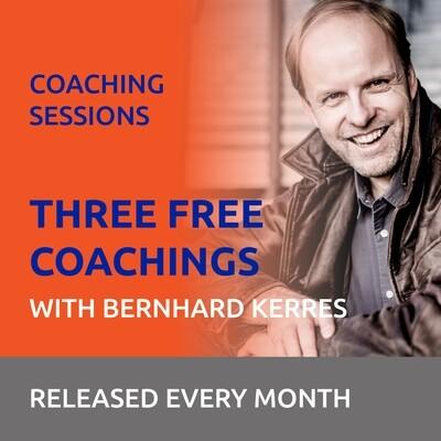 Free Coaching with Bernhard