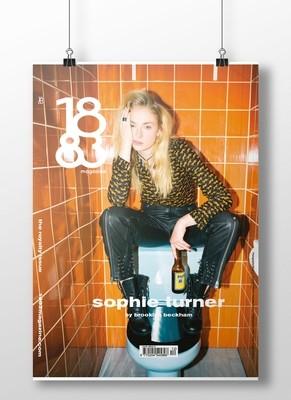Sophie Turner cover poster