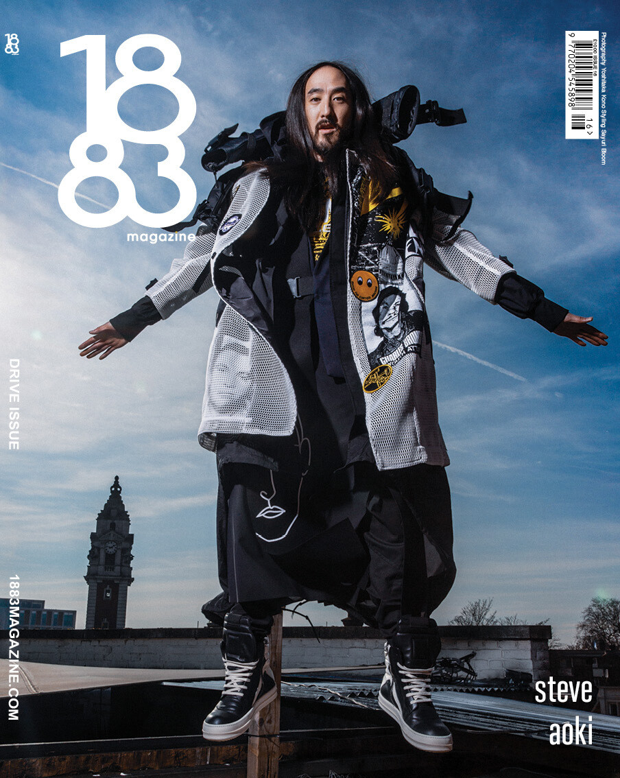 1883 Magazine Drive Issue Steve Aoki