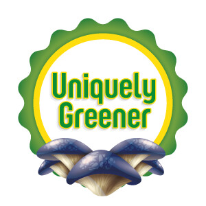 Uniquely Greener Blue Oyster Mushroom Grow Kit