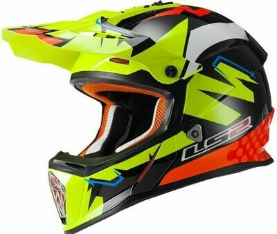 CASCO LS2 CROSS MX 437 FAST col. VOLT