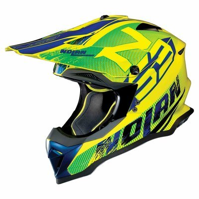 Casco Cross NOLAN N53 col. 49