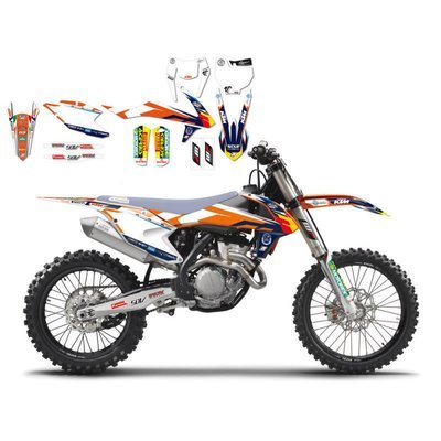 KIT GRAFICHE KTM SX-SXF-EXC 2016-2018 Replica Team TROPHY