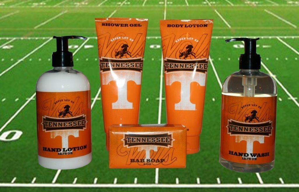 University of Tennessee Bath & Shower Gift Set 00007