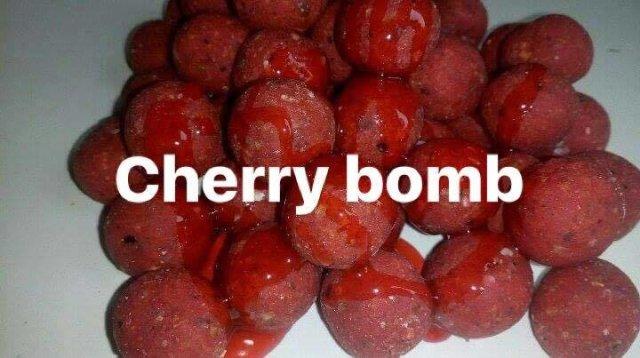 Cherry Bomb Boilie 5KG cherry