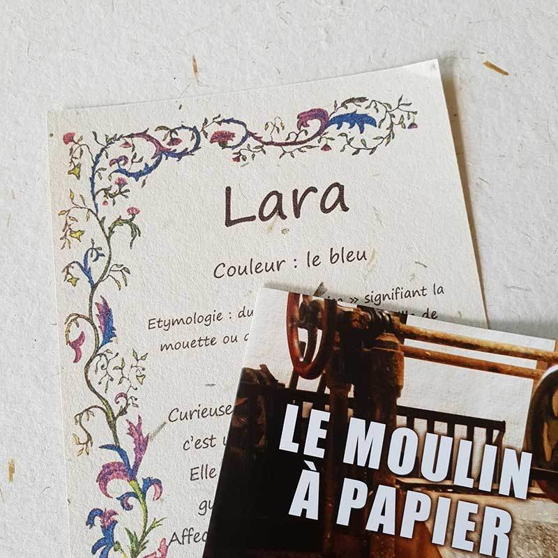 Prénom   Papier Pur Chiffon   Sainte-Suzanne