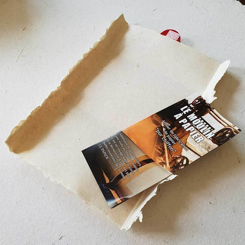 Message médiéval | Papier Pur Chiffon | Moulin de Sainte-Suzanne