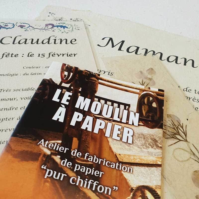 Fête des Mères   Papier Pur Chiffon   Moulin à Papier Artisanal de Sainte Suzanne
