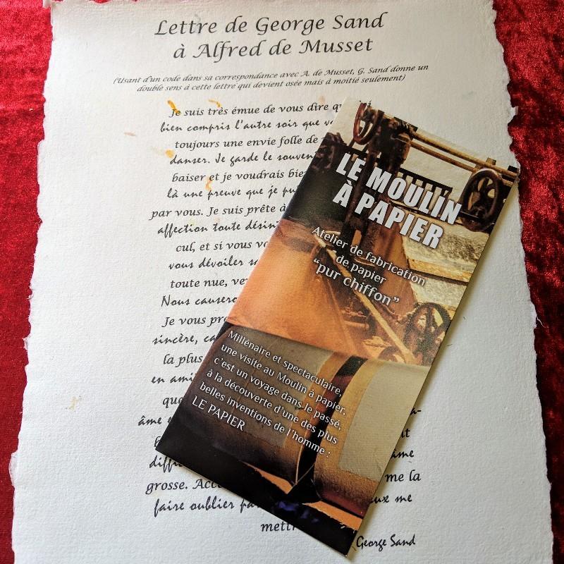 Lettre de George Sand 00055