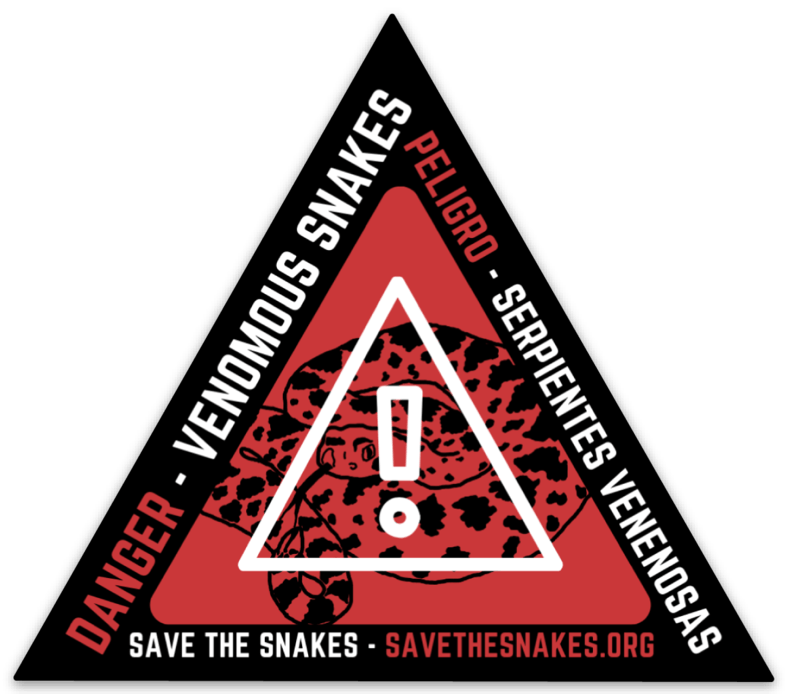 Venomous Snake Sticker