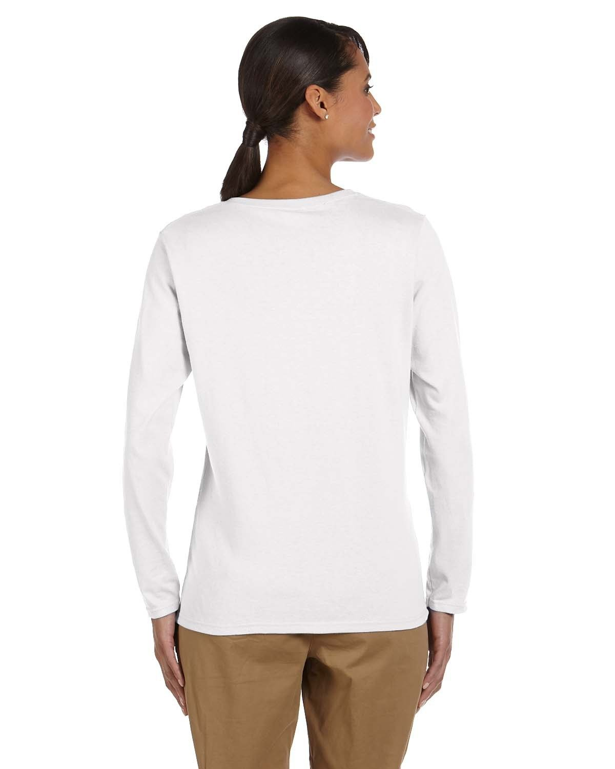 Ladies Gildan Long Sleeve T-shirt