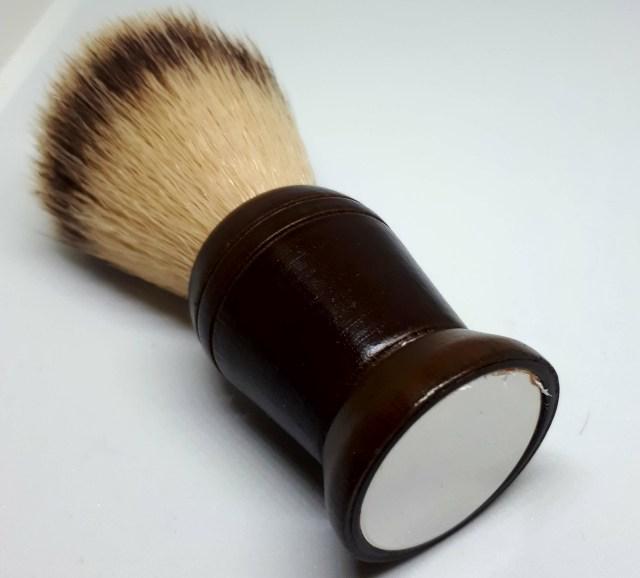 Barista Mirrored Travel Shave Brush JAV900