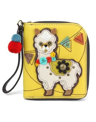 Zip Around Wallet Llama