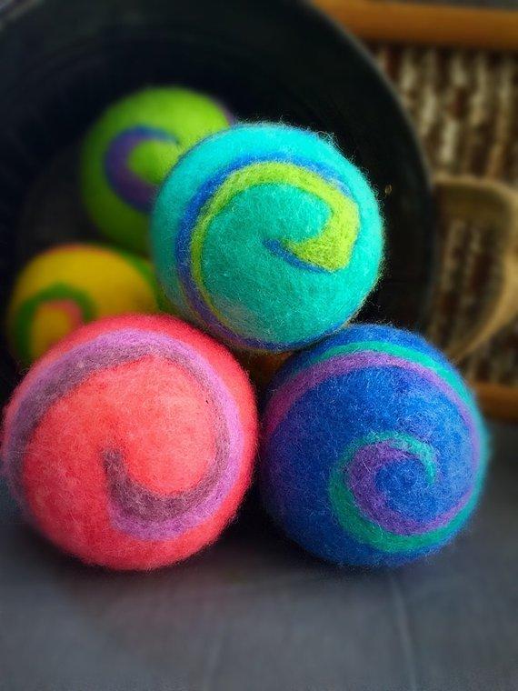 Ovella Wool Dryer Balls - Set of Six 18326