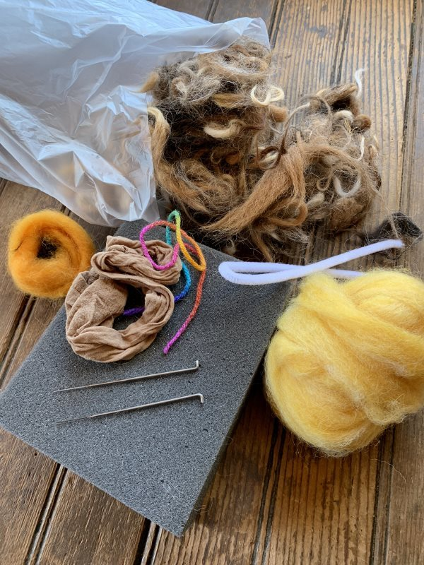 Spring Chick Needle Felting Kit