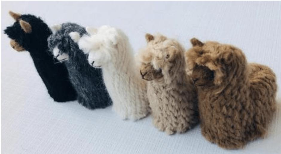 Suri Baby Alpaca Ornaments