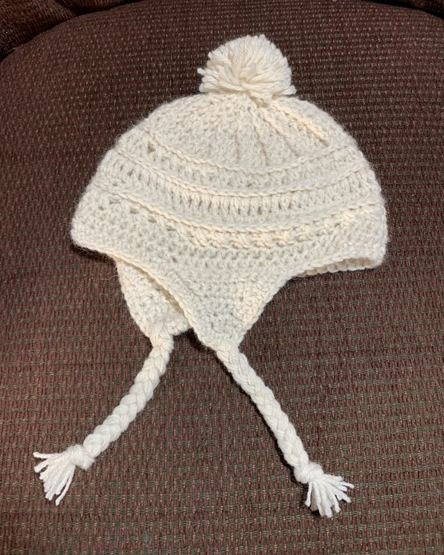 Alpaca Hat with Ear Flaps - 6-12 Months 18350