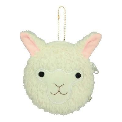 Alpaca Face Coin Purse