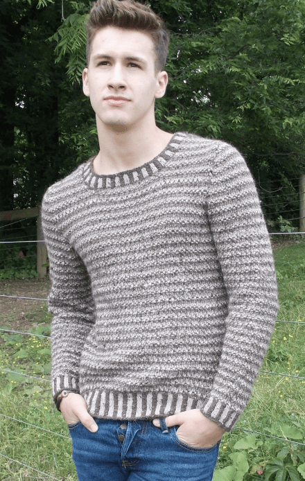 Canterbury Pullover Pattern 18411