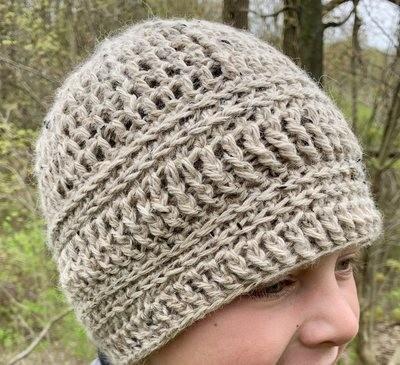 Classic Alpaca Tweed Hat