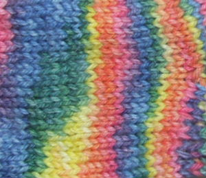 Alpaca and Superwash Wool Sock Yarn - Flaming June