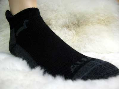 Alpaca Footie Socks PL-16950