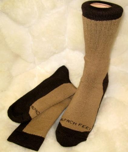 Famous Alpaca Hiker Socks
