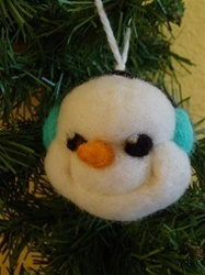 Snowman Ornament Kit 17843
