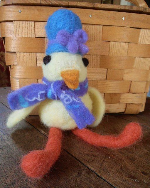 Spring Chick Felting Class