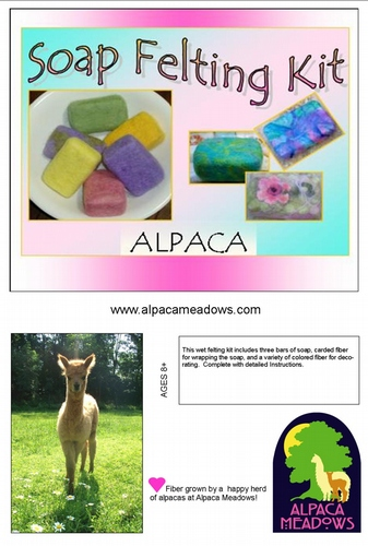 Alpaca Soap Felting Kit AMDWS-101005