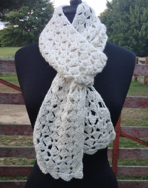 Spring Petals Scarf Crochet Class 17744