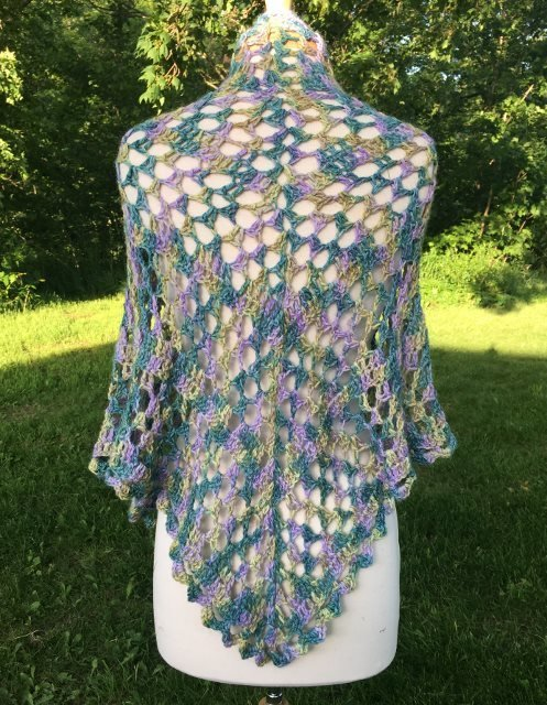 Wisteria Way Dixie Alpaca Charm Shawl