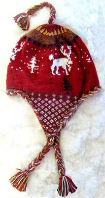 Alpaca Moose Hat - Lined