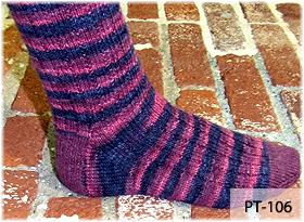 A Bump in the Rib Socks by Beth Lutz and Kim Javitt