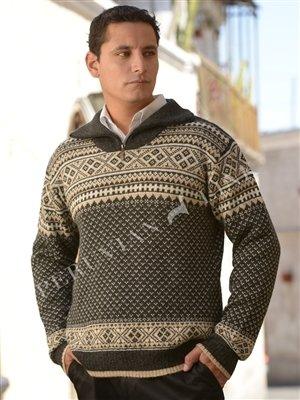 Men's Mountain Alpaca Sweater