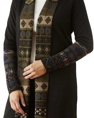 NEW Emerald Diamond Alpaca Sweater