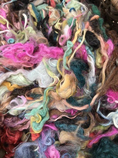 Suri Fiber - Mixed Colors