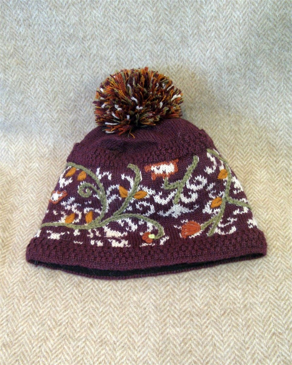NEW Vail Lined Alpaca Hat Pl-2573