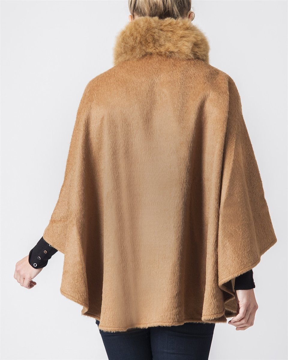 Bella Suri Alpaca Cape *LIMITED QUANTITIES*