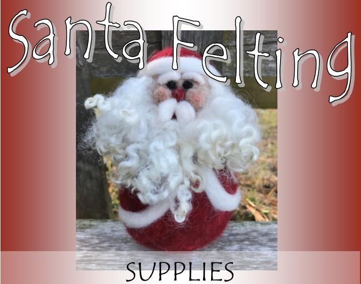 Santa Needle Felting Supply Pack 18304