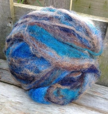 Alpaca Wool Roving - Rocky River