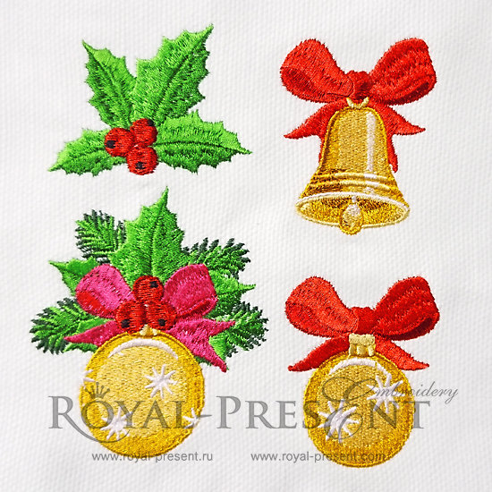 Christmas Machine Embroidery Designs RPE-1212