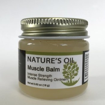 1 oz. Nature's Oil Muscle Balm 00084